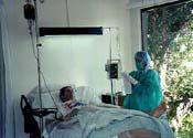 Brian in Hospital